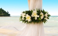 Esküvői szertartás a szabadban kép