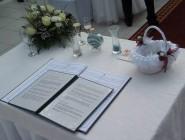 Angol nyelvű esküvő Dabason