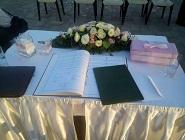 Barbara és Gyula esküvője Siófokon