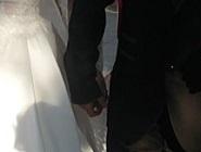 Csilla és Péter esküvői szertartása Dabason