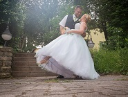 Ildi és Zoli esküvői szertartása Leányfalun