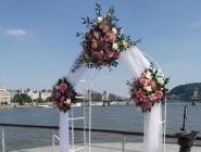 Andrea és András esküvője