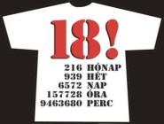 18.szülinapi póló