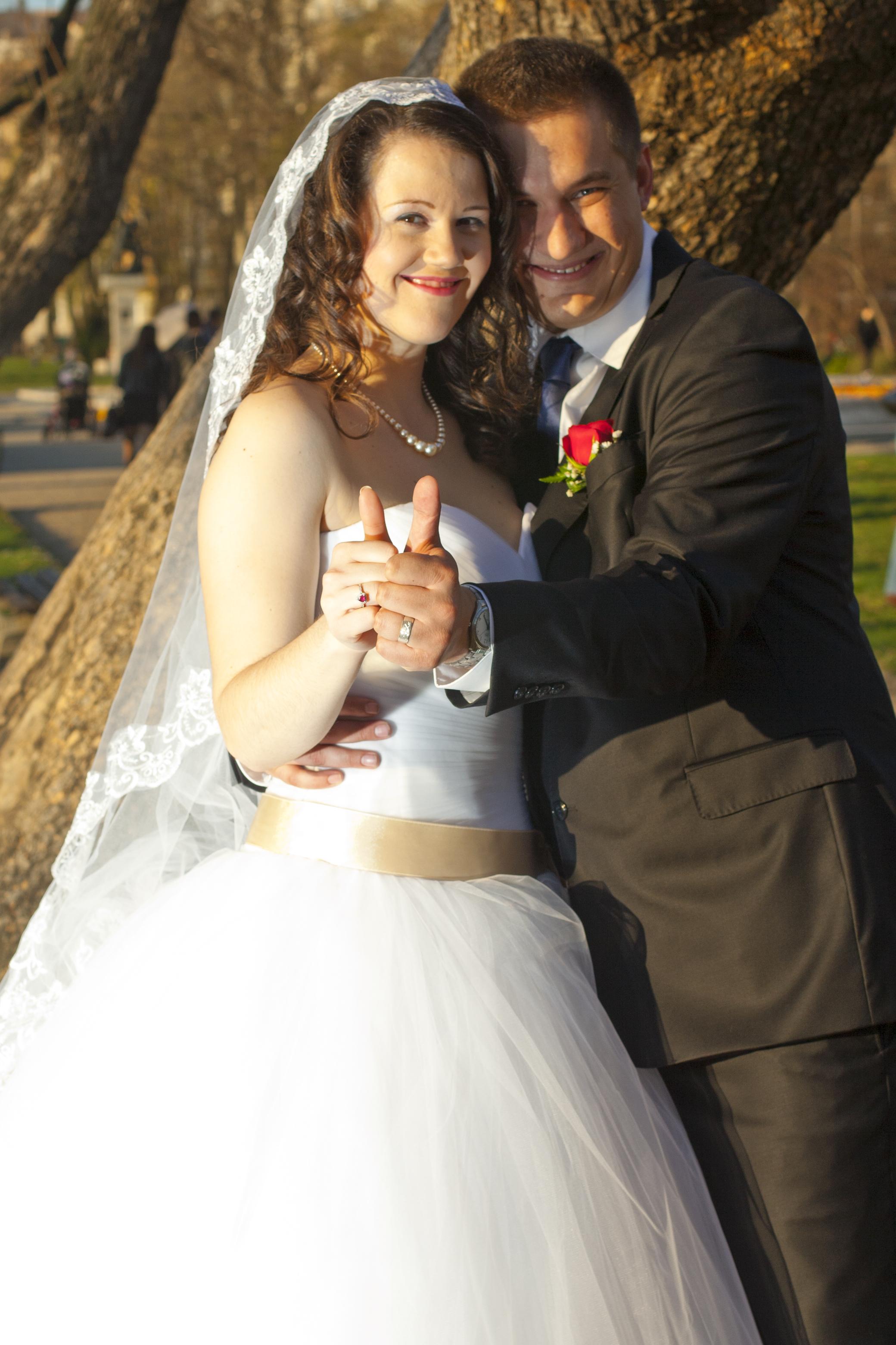 Réka és Levente esküvője kép