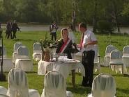 Zsuzsi és Feri esküvői szertartása Debrecenben
