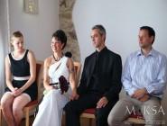 Móni és Robi esküvője